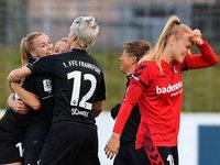 Frauen des SC Freiburg unterliegen FFC Frankfurt mit 0:3
