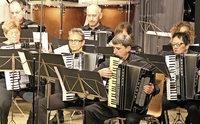 Akkordeonisten entfalten ihr Können