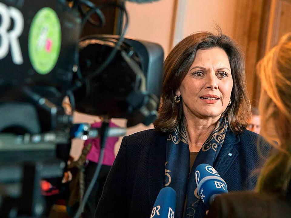 Bayerns Wirtschaftsministerin Ilse Aigner  | Foto: dpa