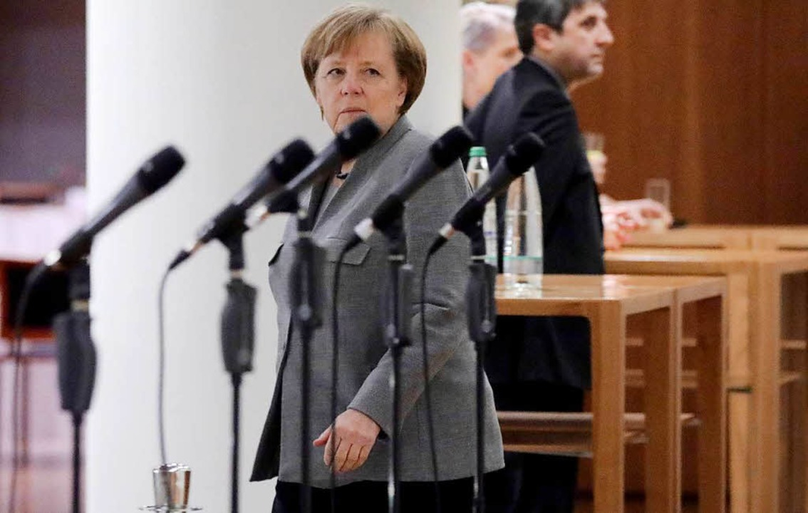 Kanzlerin Angela Merkel.  | Foto: dpa