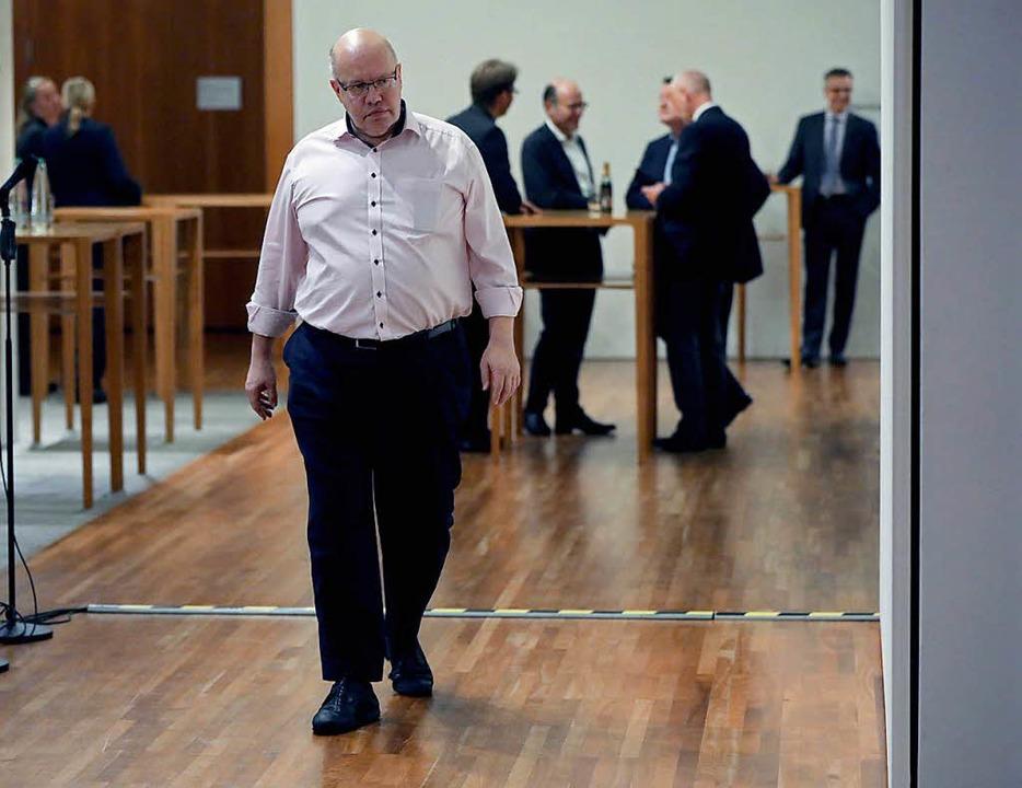 Peter Altmeier (CDU), Chef des Bundeskanzleramts.  | Foto: dpa