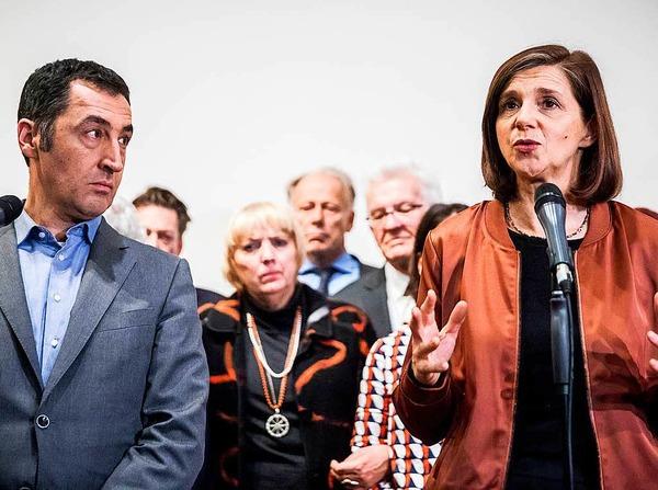 Cem Özdemir und Katrin Göring-Eckardt, Die Grünen