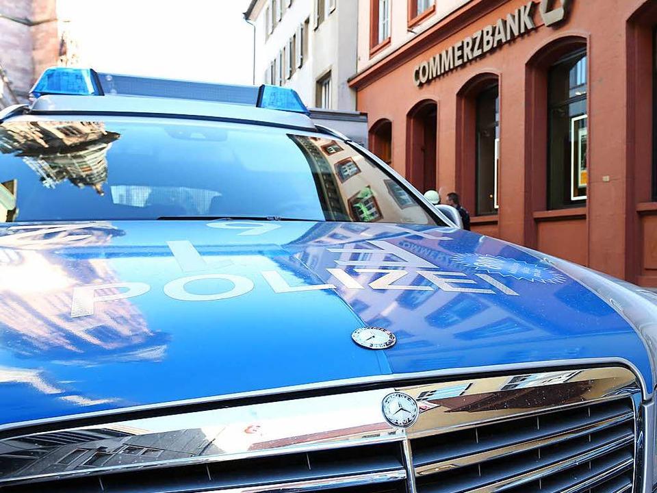 Nach einem Banküberfall in Willstätt stellt sich der Täter in Dresden.   | Foto: Symbolbild: Oliver Huber