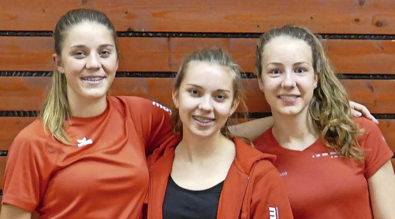 Viel Talent vorhanden: das Bad Säcking...a Valenta und Melina Huber (von links)    Foto: Raimund Huber