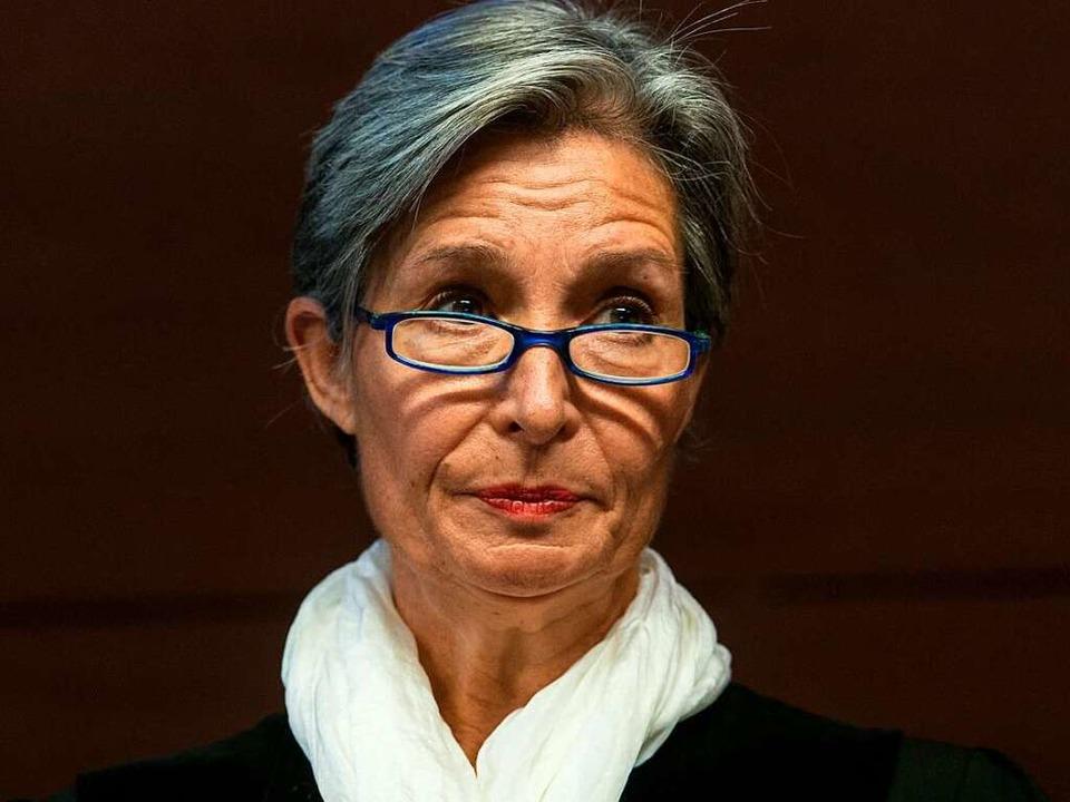 Richterin Eva Kleine-Cosack  | Foto: dpa