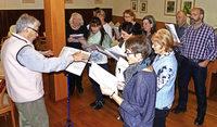 Kirchenchor blickt auf ereignisreiches Jahr