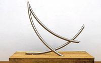 Roland Phleps zeigt in seiner Freiburger Stiftung für konkrete Kunst Stahlskulpturen und -reliefe