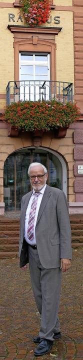 Abschied vom Herbolzheimer Rathaus: Er...llings Amtszeit endet am 30. November.  | Foto: Jörger