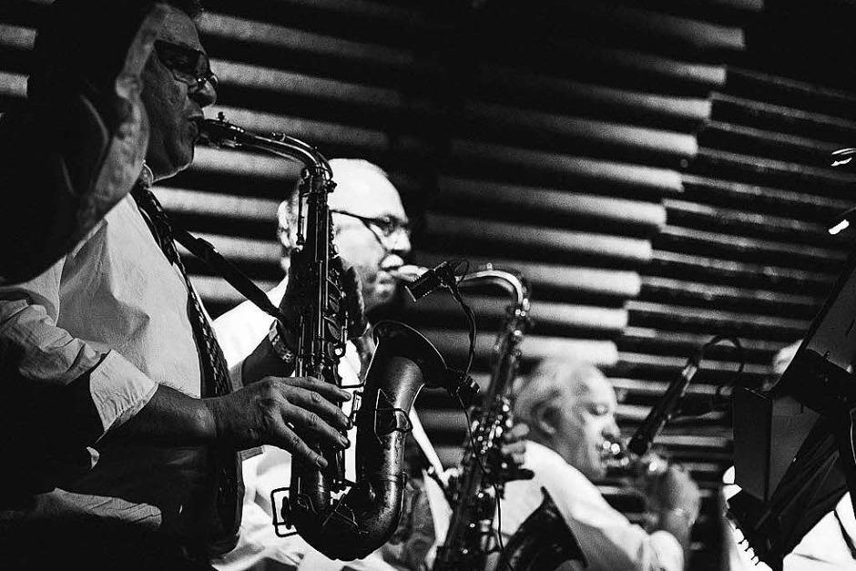 Rock'n'Roll: The Teddyshakers im Jazzhaus (Foto: Janos Ruf)