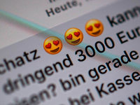 Fälle von Liebesbetrug im Netz nehmen im Südwesten zu