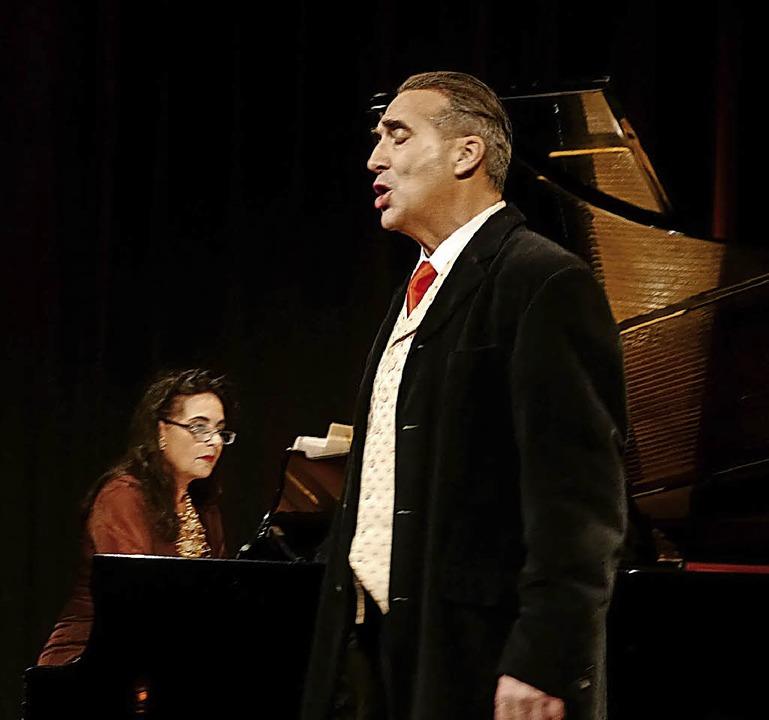 Mit Liedern von Schubert verzauberten ...nhard Richter am Samstag ihr Publikum.  | Foto: Christel Hülter-Hassler