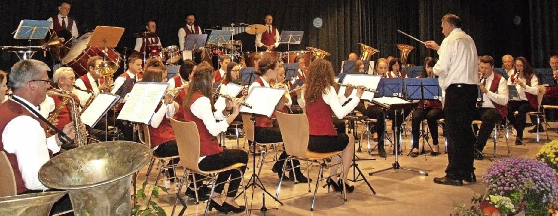 Friedrich Weingärtner leitet den Musikverein Wittental.   | Foto: Hartwig Kluge