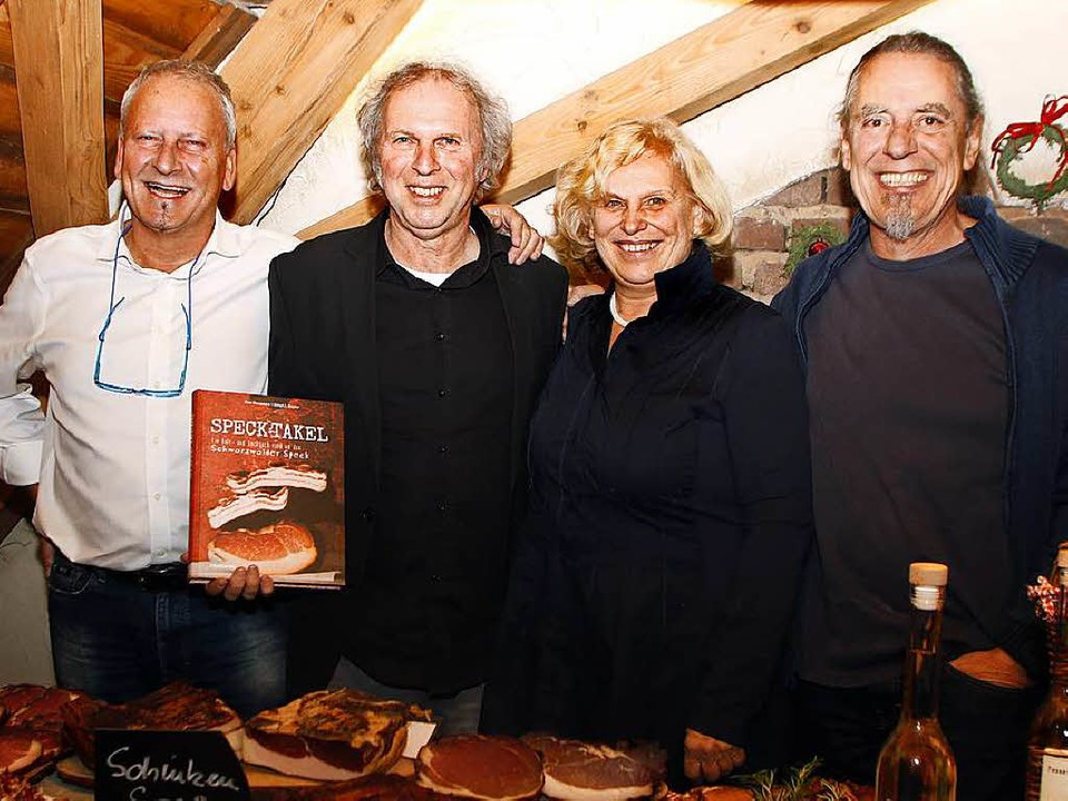 Die Macher des Kult- und Kochbuchs  &#...aumann, Sibyl Mayer und  Uli Glasemann  | Foto: Heidi Foessel