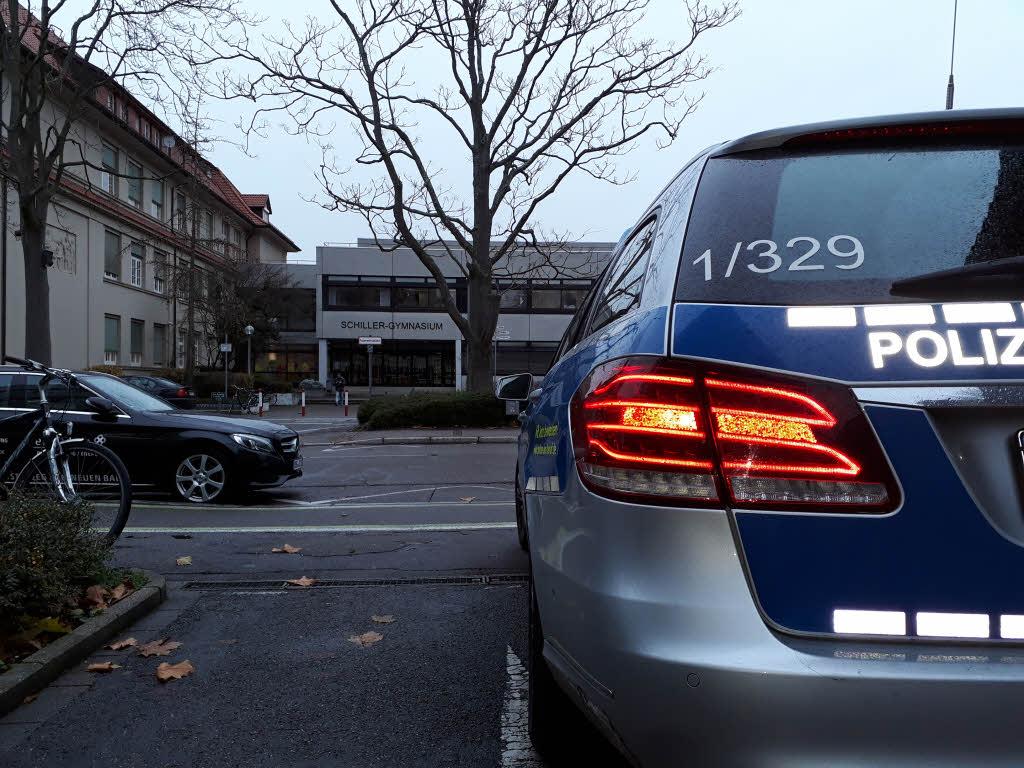 Amokalarm an zwei Gymnasien! Großeinsatz der Polizei