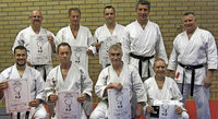 Karate-Dan-Prüfung bestanden