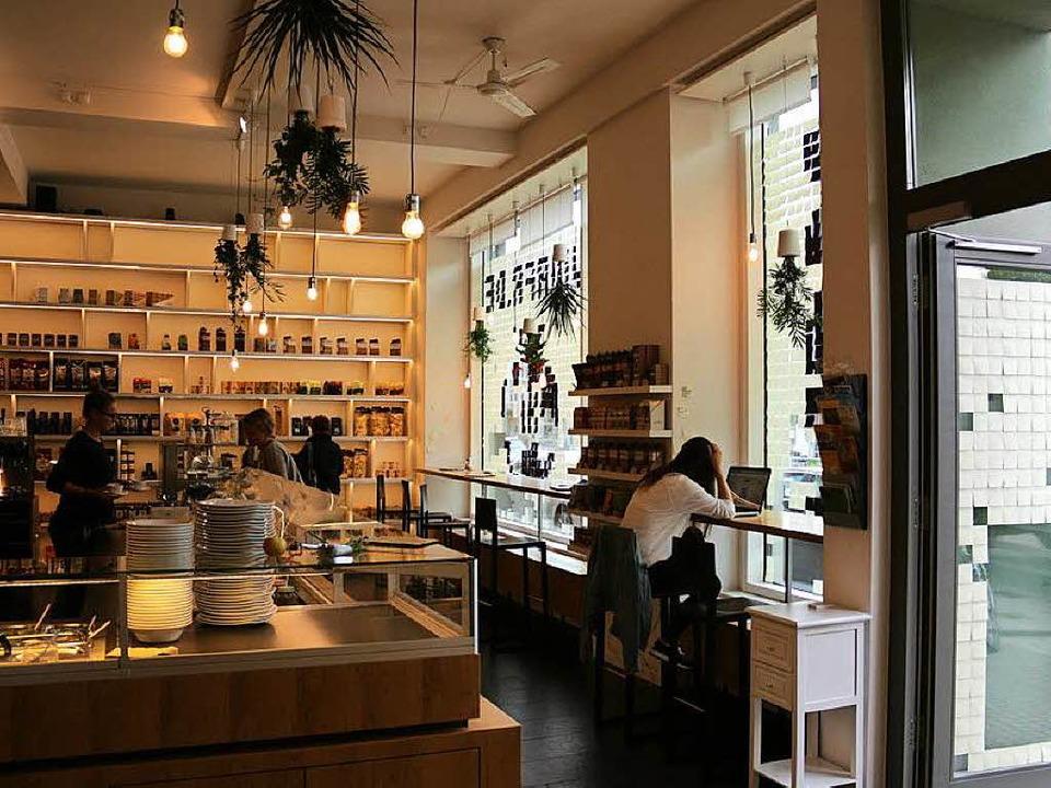 Die Filiale der Bio-Restaurantkette &#...eöffnet. Im Dezember öffnet Freigeist.  | Foto: Gina Kutkat