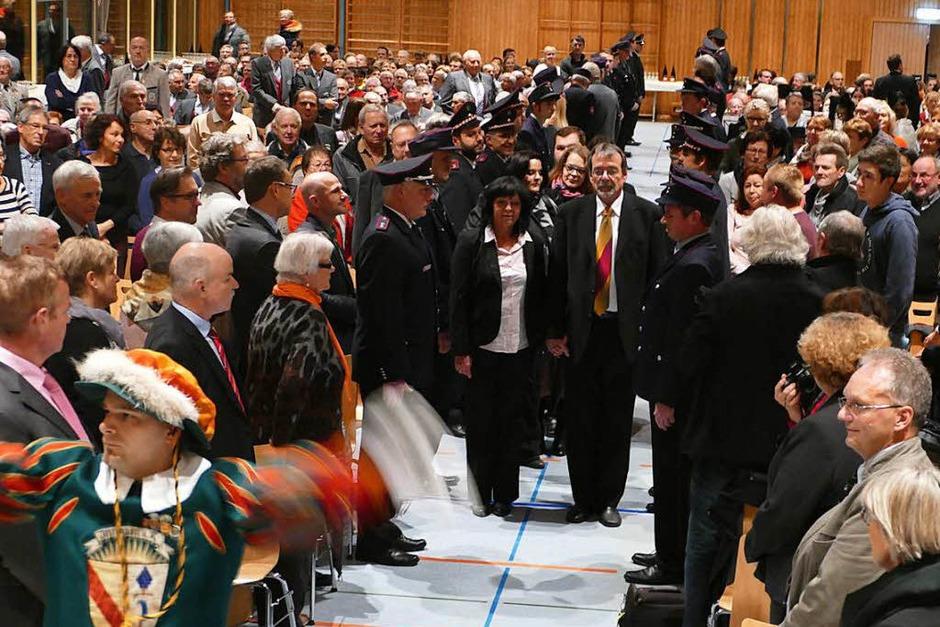 Impressionen von der Abschiedsfeier in der Kaiserstuhlhalle (Foto: Gerold Zink)