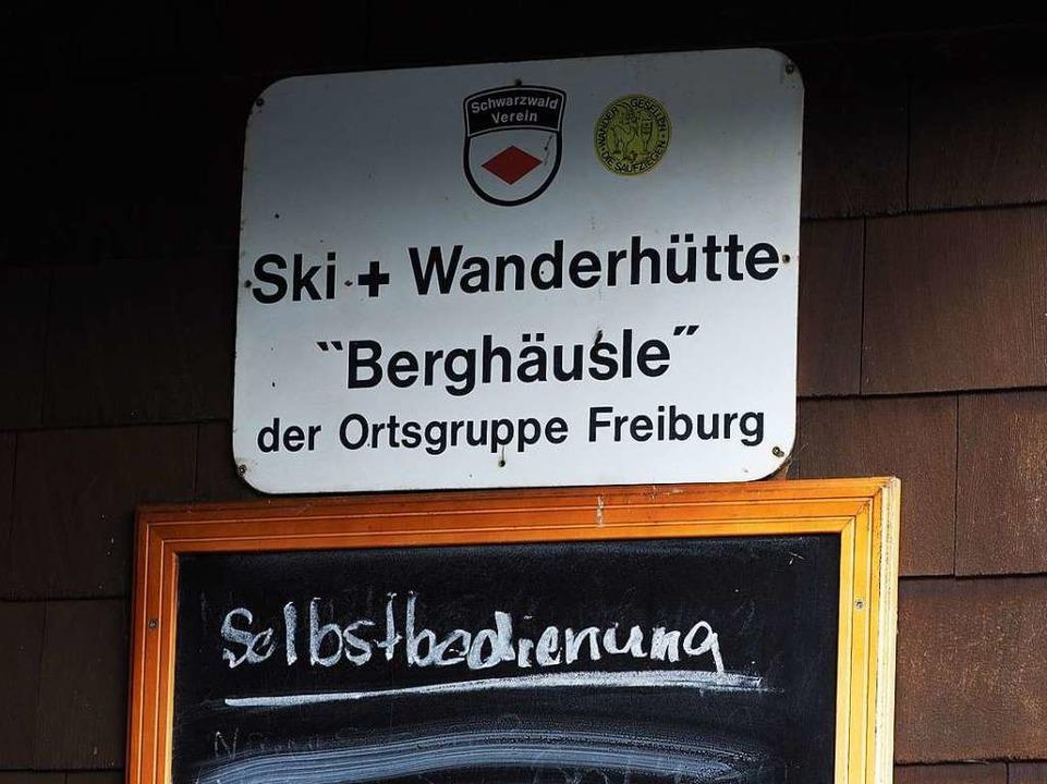 Das Berghäusle ist bei Skifahrern und Wanderern beliebt.    Foto: Susanne Gilg
