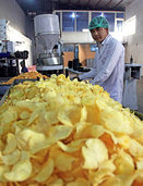 Kabuler Kinder schwören auf saure Chips