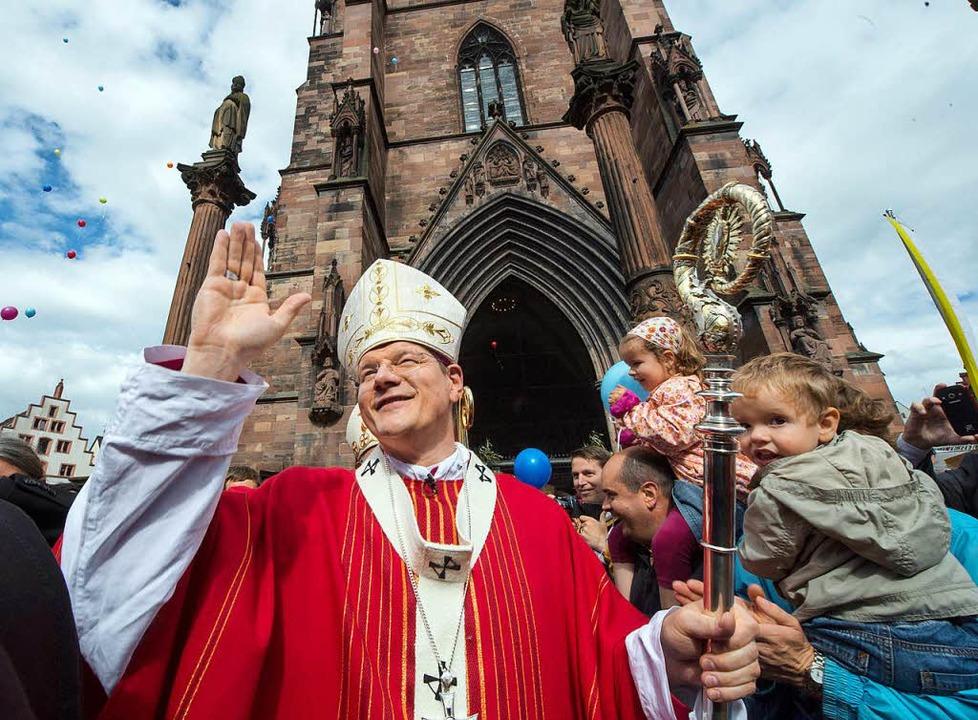 Erzbischof Stephan Burger hat Rückstel...illionen Euro eingeplant. (Archivbild)  | Foto: dpa
