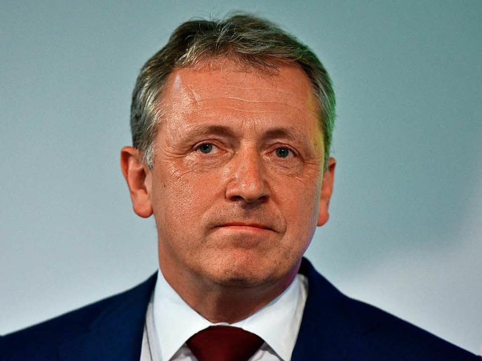 Mannheims Oberbürgermeister Peter Kurz.  | Foto: dpa
