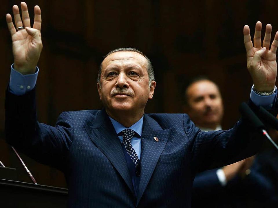 Recep Tayyip Erdogan.  | Foto: dpa