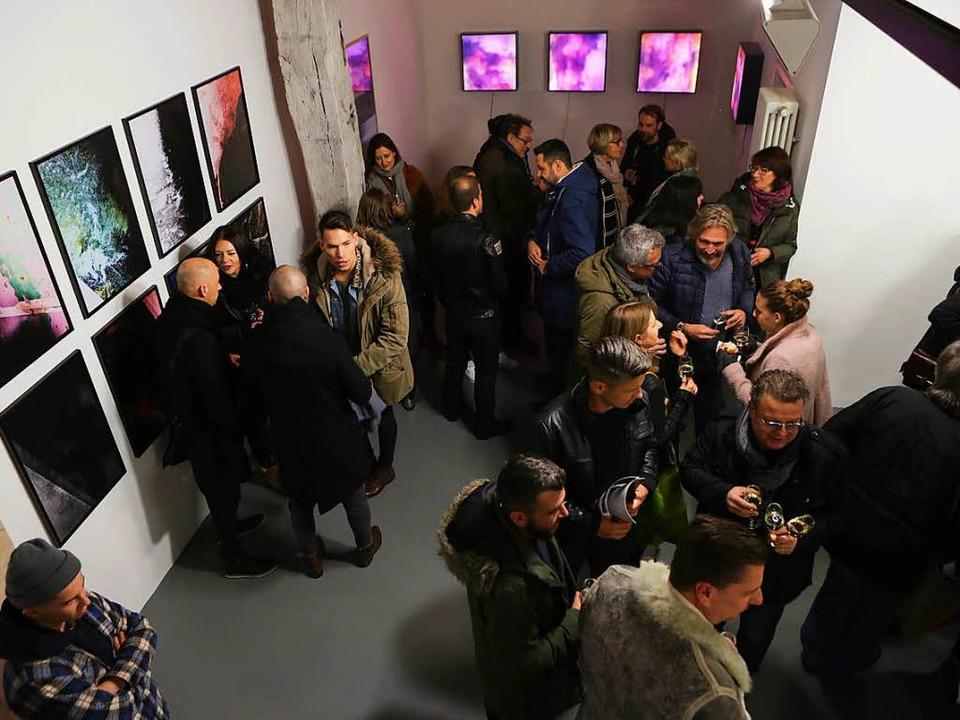Das Atelier der 2013 verstorbenen Offe...agazin. Am Freitagabend war Eröffnung.  | Foto: Christoph Breithaupt