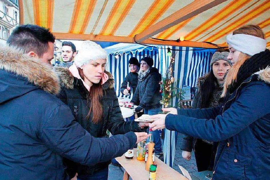 Impressionen vom Nikolausmarkt in der Innenstadt von Wehr.