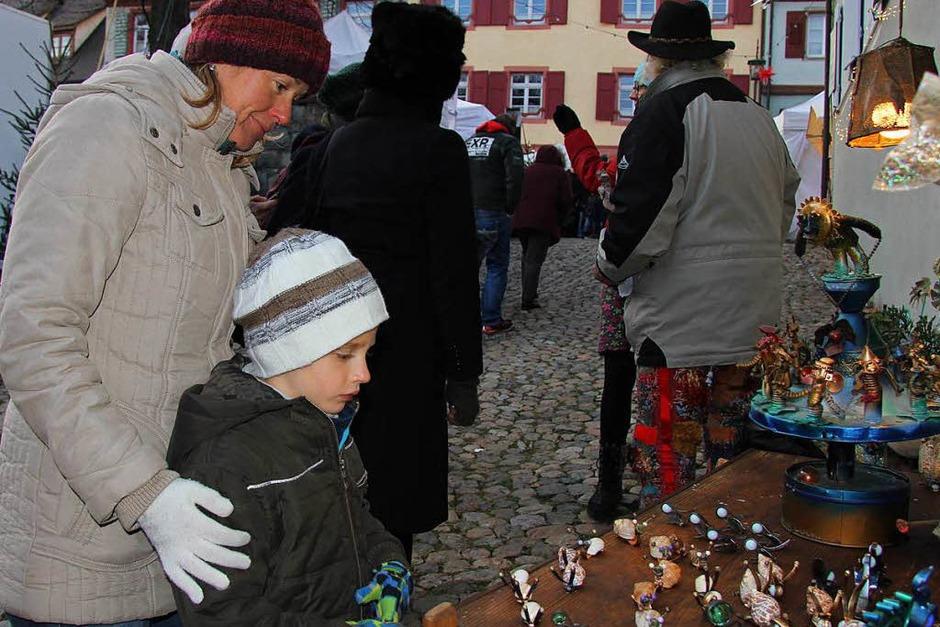 Impressionen vom Vogtsburger Weihnachtsmarkt (Foto: Herbert Trogus)