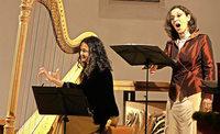 Sylvia Nopper und Consuelo Giulianelli gastierten im Kloster Himmelspforte