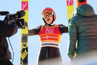 Deutsche Skispringer landen Doppelsiege in Russland