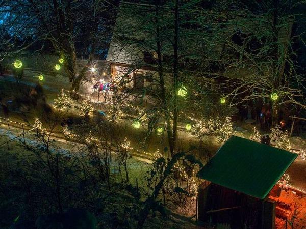 """Michael Burger, einer der Gewinner vom BZ-Wettbewerb """"Badens schönstes Foto"""", hat das erste Adventswochenende in der Ravennaschlucht festgehalten."""
