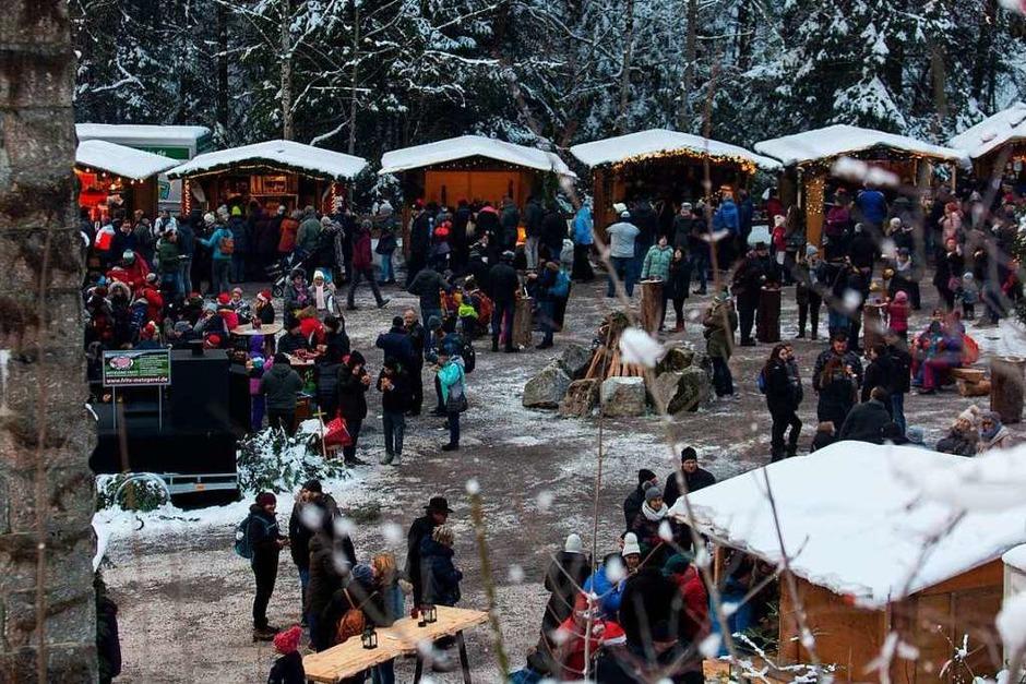 """Michael Burger, einer der Gewinner vom BZ-Wettbewerb """"Badens schönstes Foto"""", hat das erste Adventswochenende in der Ravennaschlucht festgehalten. (Foto: Michael Burger)"""