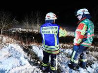 45-Jähriger rettet drei Menschen aus Auto in einem eiskalten Fluss