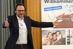 Fotos: Berufspilot Peter Brandl beim BZ-Wissensforum in Freiburg