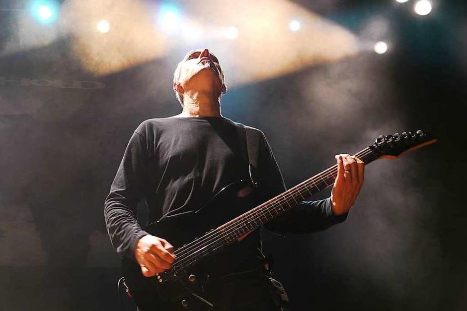 Gitarrist Karl Groom gründete die Band 1988 – und ist bis heute der musikalische Motor von Threshold. (Foto: David Weigend)