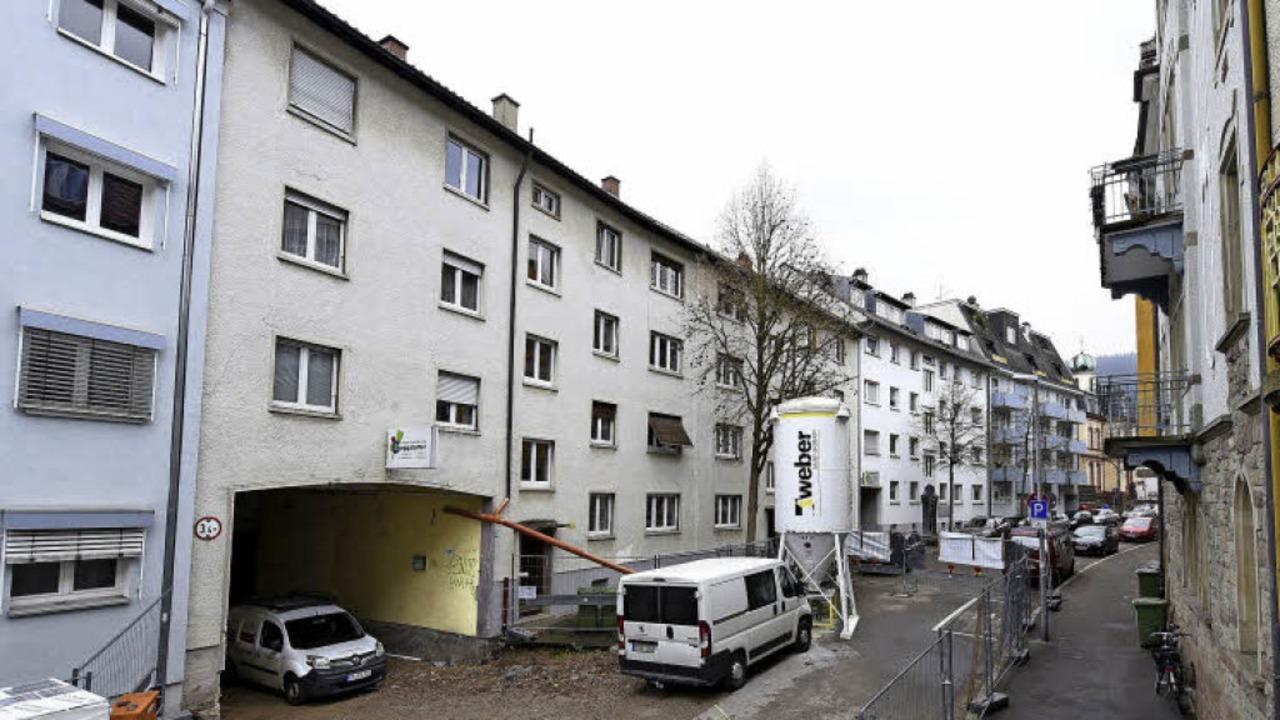 Die Idee, die Häuser Schwendistraße 6-... Vorhaben einen Riegel vorschieben.     | Foto: Thomas Kunz