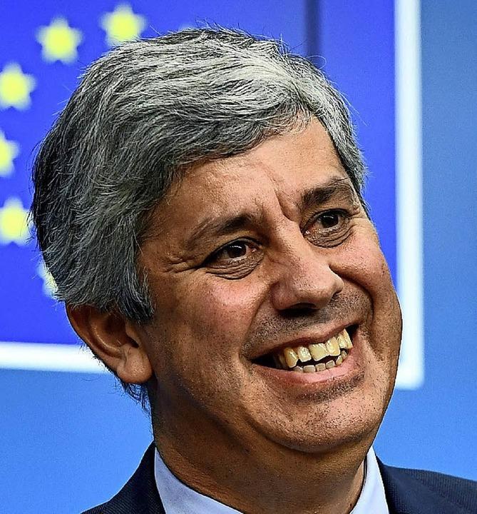 Mário Centeno     Foto: AFP