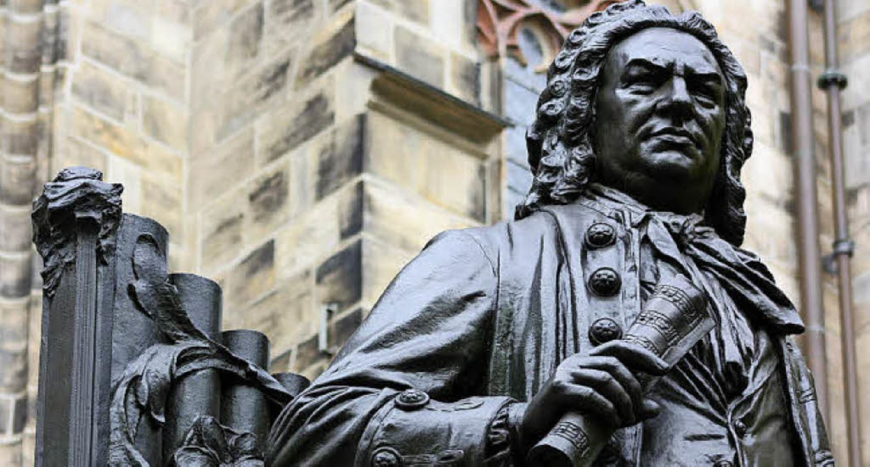 Herausragend in der Musik: Johann Seba...stellt vor der Thomaskirche in Leipzig  | Foto: Ellie Nator (fotolia.com)