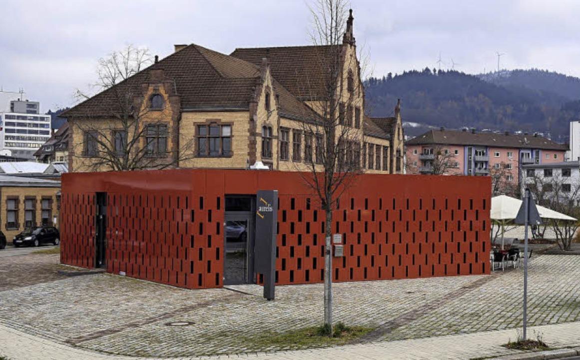 Der Pavillon, in dem sich aktuell auße...t, ist als Quartierstreff im Gespräch.  | Foto: Thomas Kunz