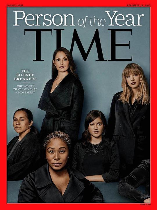 Das Cover des  Time-Magazines.   | Foto: AFP