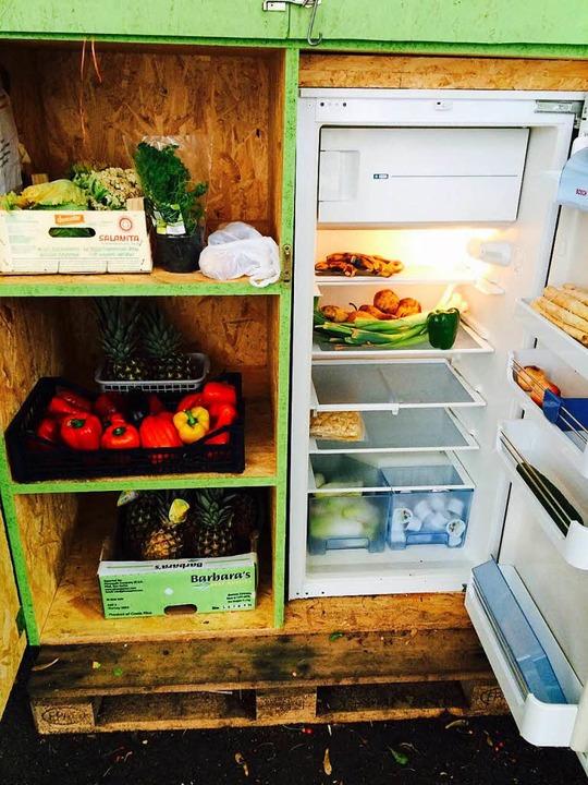 Fairteller einer Foodsharing-Initiative in Basel  | Foto: zvg