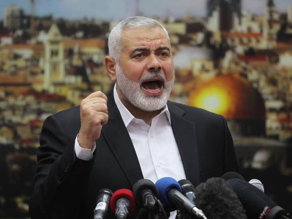 Ismail Hanija  | Foto: AFP
