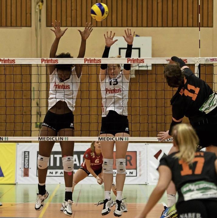 Das Zusammenspiel zwischen Block und A...stand der vergangenen Trainingswoche.   | Foto: Sebastian Köhli