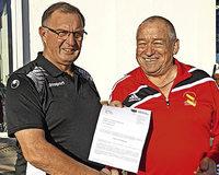 Klaus Auer erhält den Ehrenamtspreis