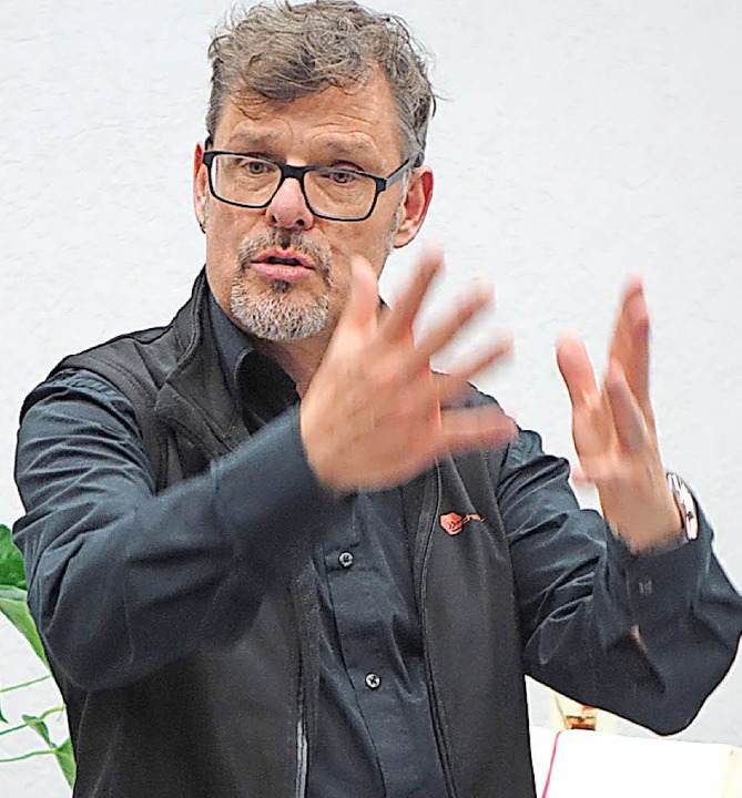 Kantor Rainer Marbach    Foto: Roswitha Frey