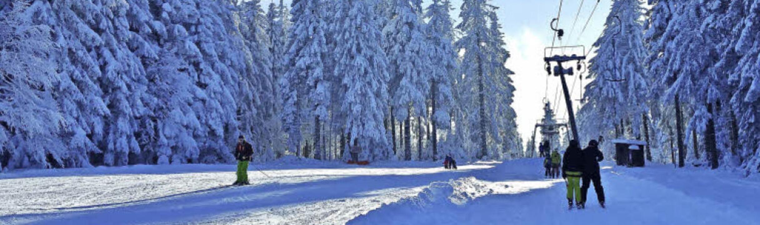 Ein Geheimtipp sowohl für alpine Skifa...h wie selten schon viel Neuschnee hat.    Foto: Raimund Haaf