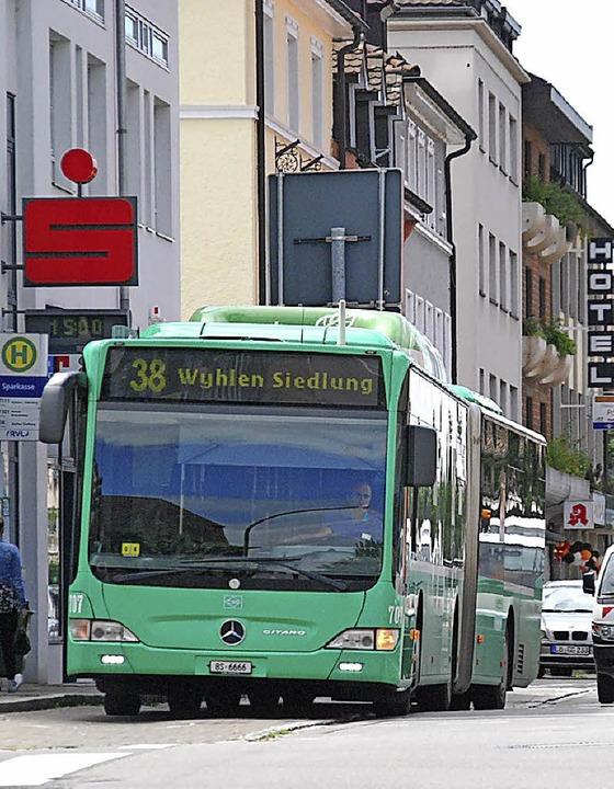 Mit dem Bus kann man zum Einkaufen fahren.  | Foto: Dorweiler