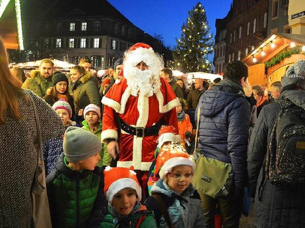 Impressionen vom ersten Tag des Lörracher Weihnachtstags