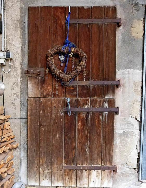 Die Tür zum Eselstall  | Foto: Claudia Bachmann-Goronzy